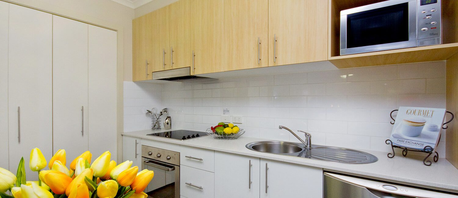 Canberra-1-bedroom-suite-kitchen | Pacific Suites Canberra