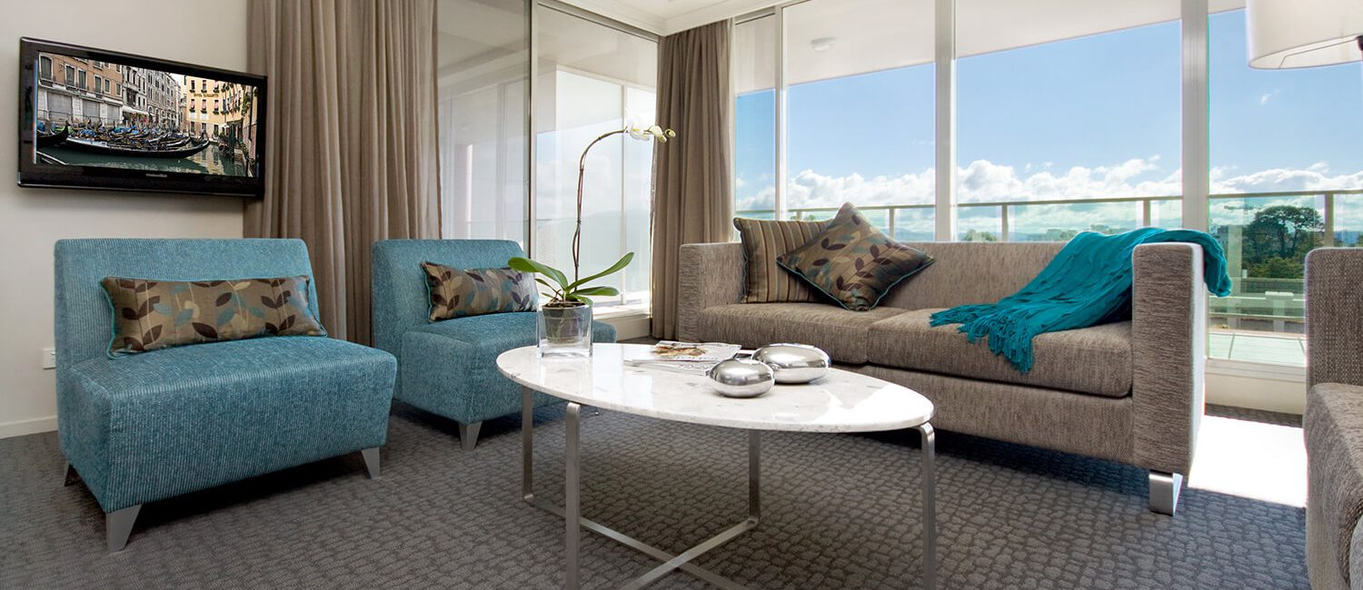 Canberra-two-bedroom-two-bathroom-suite-living-1 | Pacific Suites Canberra